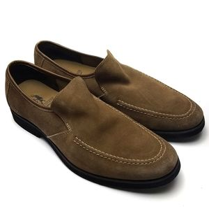 Hush Puppies Reminisce Suede Loafer sz 11.5